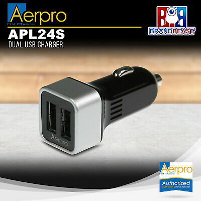 Aerpro Apl24s Dual Usb Charger