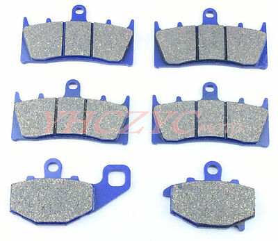 New Front Rear Brake Pads For KAWASAKI ZX9R 96-01 1996 1997 1998 1999 2000 2001