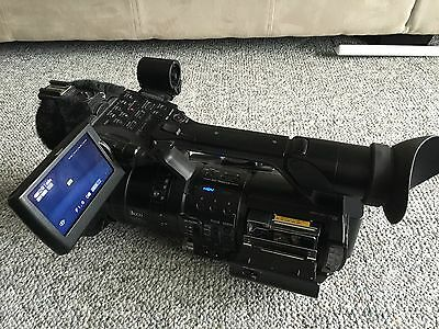 Sony Z1U camcorder and extras