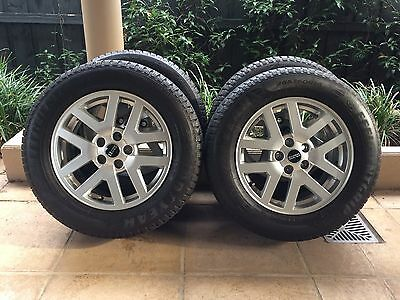"18"" Genuine Land Rover Discovery 3/4 Wheels & 95% Goodyear Tyres Range Rover"