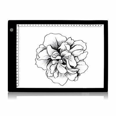 Tracing Light Box, Yakamoz 17 Inch A4 Size Ultra-thin LED Light Pad, LED Artist