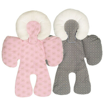 2pc Soft Cotton Baby Car Seat Pram Stroller Cushion Pad Pushchair Mat Liners