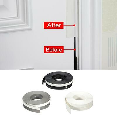 5M Rubber Sealing Strip Draught Excluder Tape Draft Insulation For Door 25mm #5