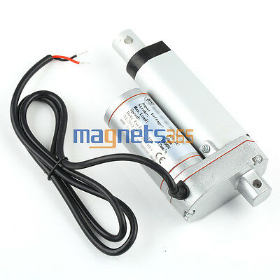 "225lb 12V 2""/4""/6""/8""/10""/12"" Electric Linear Actuator Motor Stroke 1000N 12mm/s"