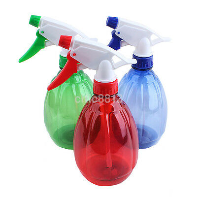 500ml Empty Water Sprayer Small Spray Bottle For Salon Plant Pet Random Color US