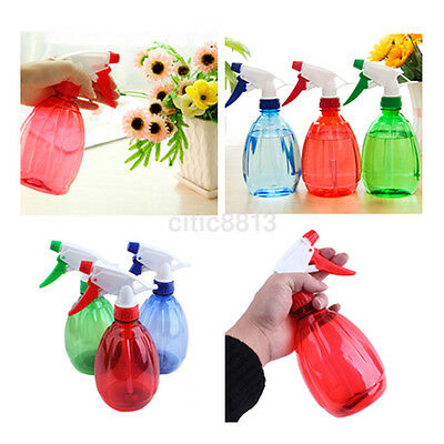 500ml Empty Water Sprayer Small Spray Bottle For Salon Plant Pet Random Color UK