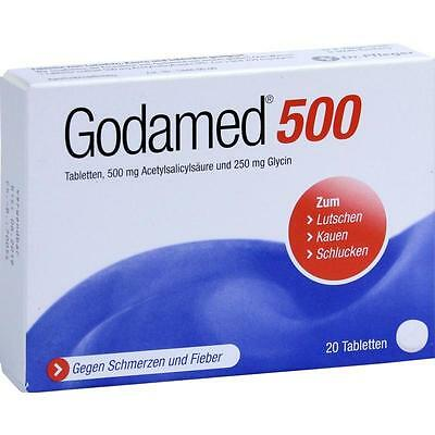GODAMED 500 Tabletten   20 st   PZN7495938