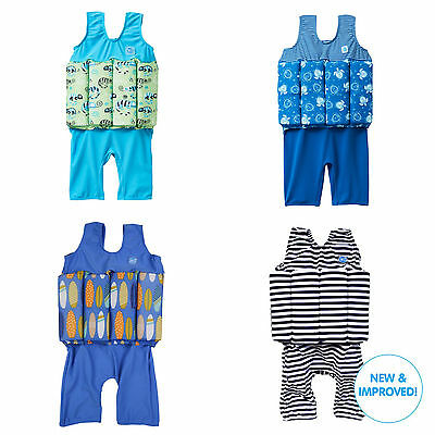 Splash About Short John ZIP Design Swim Buoyancy Float Suit Baby toddler NEW