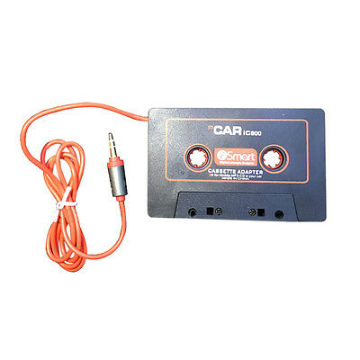 Car Audio Systems Car Stereo Cassette Tape Adapter for Mobile Phone MP3 AUX Y3I3
