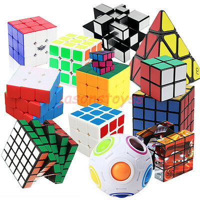 Smoothly Professional Speed Magic Cube Puzzle Twist Classic Brain Game Mirror