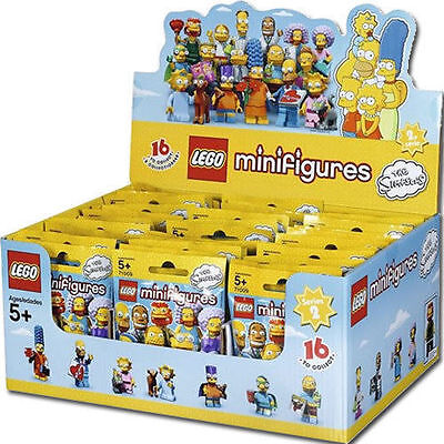 Lego 71009 Box Complete Sealed 60 Sachets Minifigures Simpsons Series 2 New