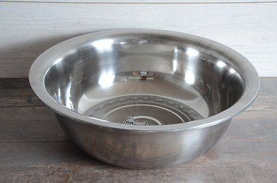Stainless Steel Mixing bowl 60 cm Food Kitchen Salad Catering Serving Large
