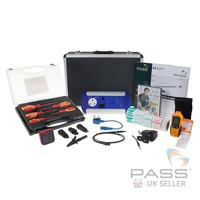 First Stop Safety BATTPAT PAT Tester Essentials Kit - Labels,Case,Logbook + More