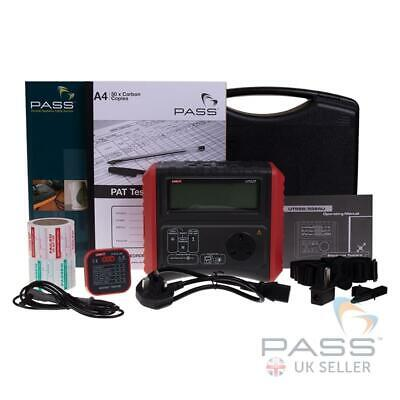 UT527 Entry Level PAT Tester + FREE Accessories & Certificate of Calibration
