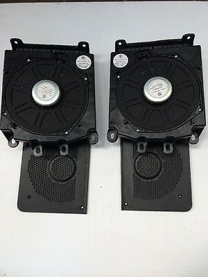 BMW 5 Series E60 E61 Pair Of Front Bass Shaker Speaker Under Seat Sub 6919353