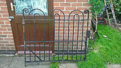antique wrought iron large gate