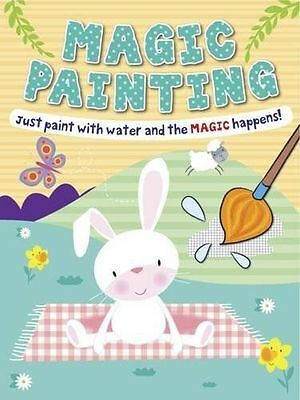 Magic Painting Bunny: Just Paint with Water and the Magic Happens! by Autumn...