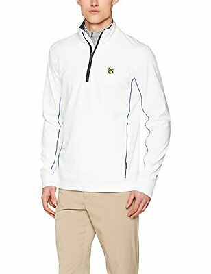Lyle & Scott – Giacca Huntly, Uomo, Huntly, 626 White, S (t1Q)