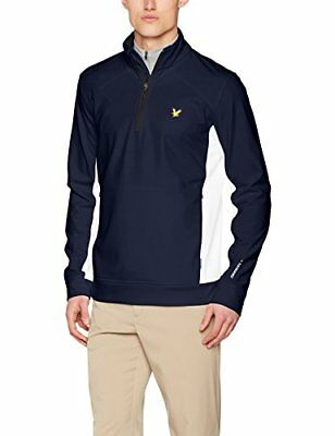 Lyle & Scott – Giacca Huntly, Uomo, Huntly, Z05 Navy, S (F1s)