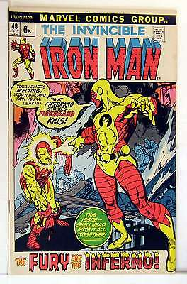 Iron Man (Vol 1) #  48 (VFN+) (VyFne Plus+) Price VARIANT RS003 Marvel Comics OR