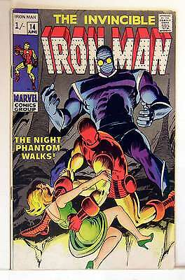Iron Man (Vol 1) #  14 Fine (FN) Price VARIANT RS003 Marvel Comics SILVER AGE