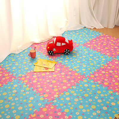 One Piece 30*30*1cm Eva Foam Floor Mat Baby Kids Safe Game Activity Crawling Mat