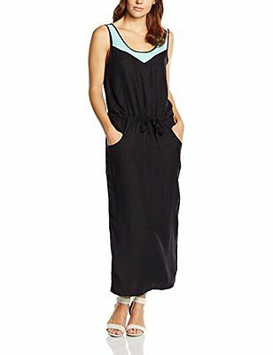 BOGNER FIRE + ICE maxi vestito donna Lauri, Nero, 42, 64634401 (a6D)