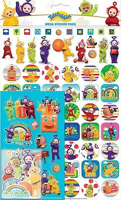Teletubbies | Dipsy Mega Sticker Pack Over 150 Stickers | Party Favours | Crafts