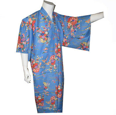 High Quality MADE IN JAPAN Lady Kimono with Floral Pattern, Japanese Kimono, NEW