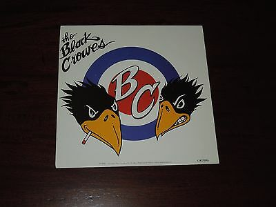1998 The Black Crowes Twin Smoking Crows + Bullseye New Old Stock Sticker