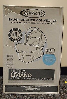 Graco Snug Ride Click Connect 35 Infant Car Seat Holds Up To 35 Lbs In Rockweave
