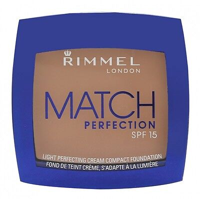 Rimmel Match Perfection Foundation Compact Per Lei. Nuovo