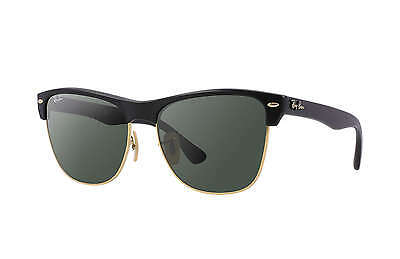 Ray-Ban RB4175 Clubmaster 877 Black Frame/Green Classic G-15 Lens 57mm