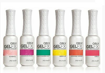 Orly Gel FX GELFX Gel Polish Summer Colors Variations of Your Choice .3oz/9mL