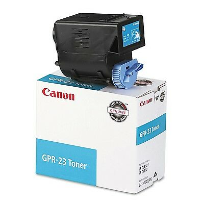Canon Gpr-23 Cyan Toner Cartridge for Use in Imagerunner C2550 C2880 C2880i C308