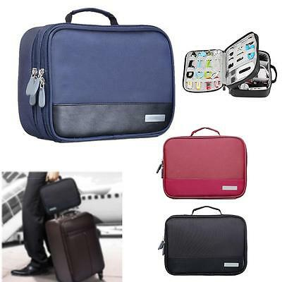Universal Cable Organizer Electronics Accessories Case USB Phone Travel Bag #5