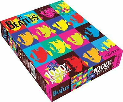 Aquarius The Beatles Pop Art Puzzle, 1000 Pezzi (a1P)