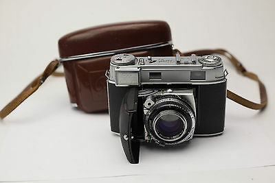KODAK Retina IIIc 35mm Rangefinder Camera  W/ Case