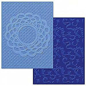 Fustella Embossing Sizzix 658516 Textured Impressions Doily Lace