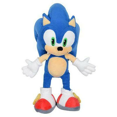 New Sonic 30cm Plush Soft Ideal Gift Children Plush Doll Teddy Blue Sega Game