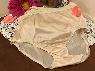 Adonna Nude With Lace Nylon Panties  Size 6      #042706