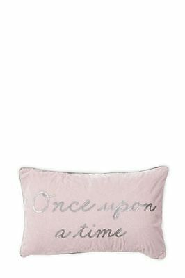 Bnwt Next Pink 'once Upon A Time' Children's Girls Bedroom Cushion / Pillow