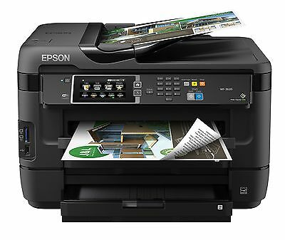 Epson Canada Workforce WF-7620 Wireless and Wi-Fi Direct, All-in-One Wide-For...