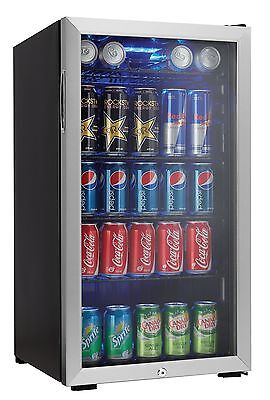 Danby DBC120CBLS 120-Can Beverage Centre, Stainless Steel
