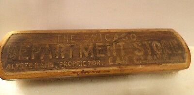Antique Advertising Clothing Brush Chicago Dept Store - Eau Claire WI Wisconsin
