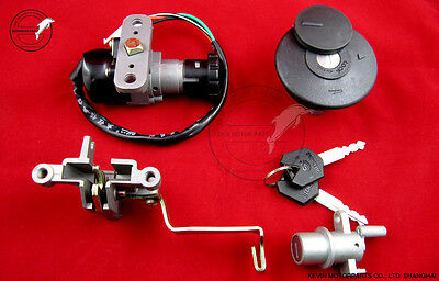 Ignition Switch Lock set Chinese 50cc scooter Retro Roketa Taotao Znen BT49QT-11