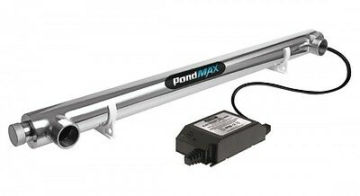 PondMax 40W UV Steriliser for Fish Ponds + FREE SHIPPING!