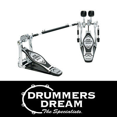 Brand New TAMA Iron Cobra Double Kick Pedal HP200PTW BRAND NEW! Power Glide