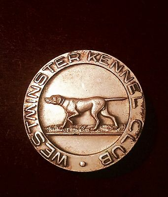 1910's WESTMINSTER Kennel Club Show NON SPORTING TROPHY POINTER