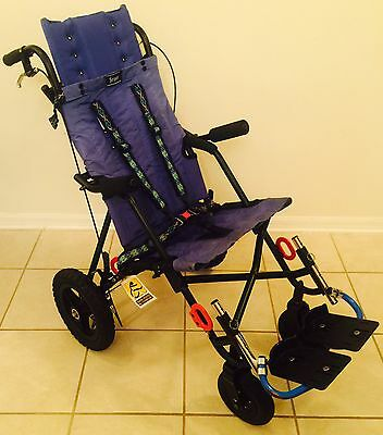 Convaid Cruiser Scout 14 All-terrain Special Need Stroller With Hand Brakes